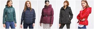 Najtańsze kurtki puchowe na zimę