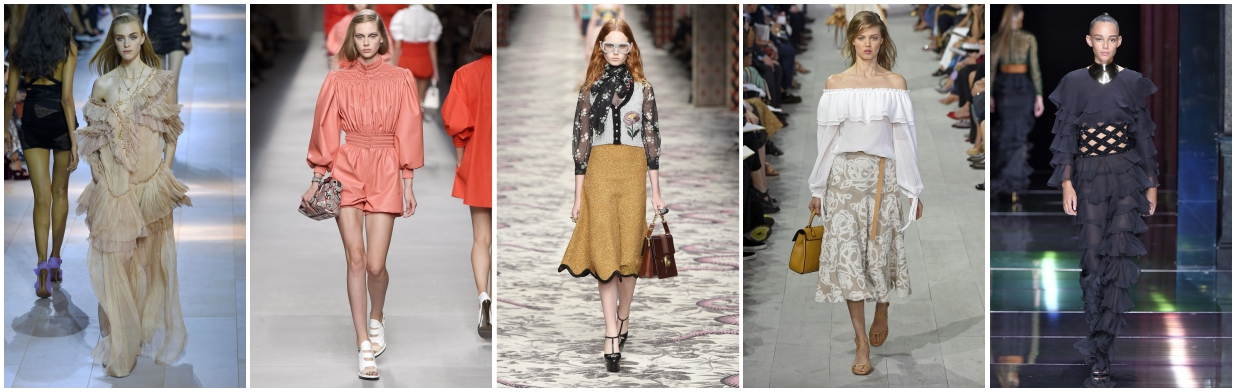 Wiosna 2016 - najważniejsze trendy w modzie
