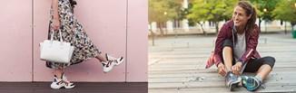 Obuwie sportowe damskie - modne sneakersy od A do Z
