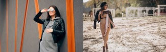 Odzież ciążowa na jesień i zimę 2021/2022 — najważniejsze trendy w modzie dla przyszłych mam