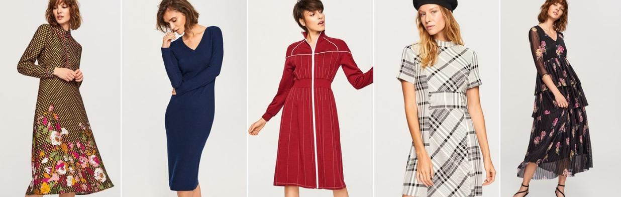 Oryginalne sukienki na jesień. Zobacz te HITY!