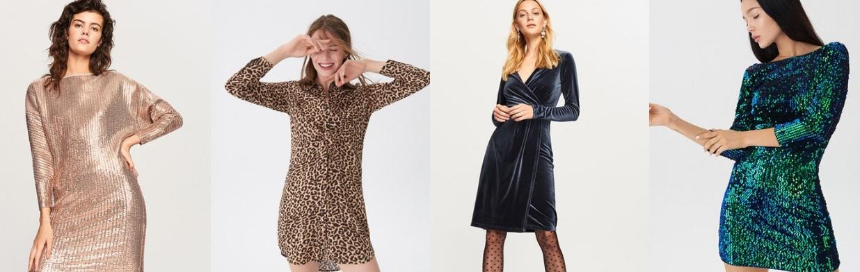 efa9b4cd3e Oto najpiękniejsze SUKIENKI na andrzejki - Trendy w modzie w Domodi