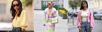 Pastelowy kardigan - hot trend wiosna/lato 2021. Sprawdź, jak noszą go fashionistki!