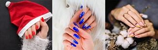 Paznokcie na święta 2020. Najpiękniejsze pomysły na świąteczny manicure! [6 topowych inspiracji]