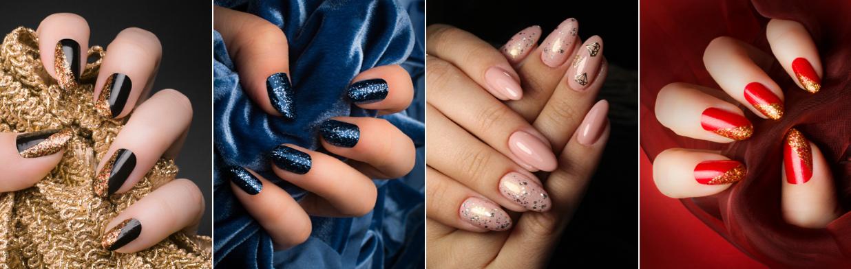 Paznokcie na sylwestra 2019/20 - zobacz pomysły na sylwestrowy manicure!