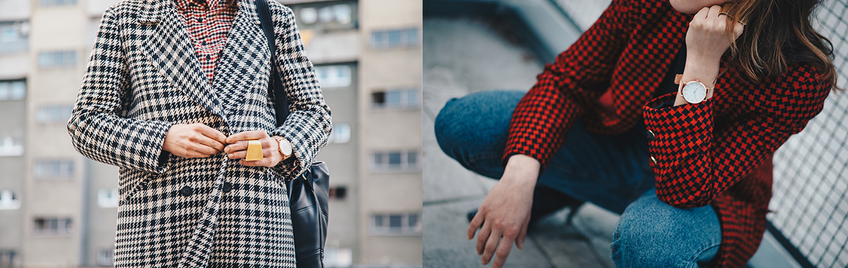 Pepitka - jak nosić najmodniejszy wzór jesieni? Stylizacje dla kobiet w każdym wieku