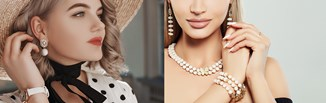 Perły: najpiękniejsza biżuteria i modne dodatki z perłami na ten sezon [hot trend 2021]