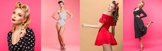 Pin-up girl - poznaj trend, charakterystyczne elementy stylu pin-up girls i stwórz modną stylizację!