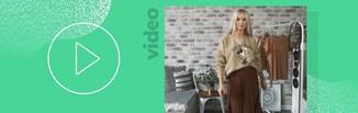 Plisowana spódnica - 3 modne stylizacje na jesień i zimę 2019/2020 [VIDEO]