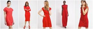 Przecenione czerwone sukienki!