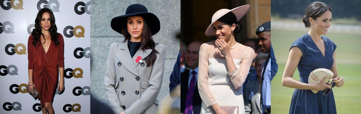 Rewolucje stylu: Meghan Markle kiedyś i dziś. Zobacz metamorfozę księżnej