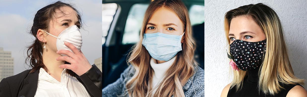 Rodzaje maseczek ochronnych i antywirusowych - jaką maseczkę na twarz kupić?