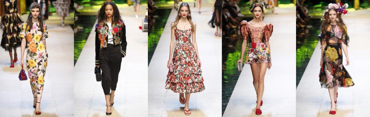 463a00baeb Róże i kwiaty - moda w stylu Dolce   Gabbana - Trendy w modzie w Domodi