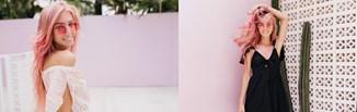 Różowe włosy - truskawkowy blond, pudrowy róż, a może ombre?