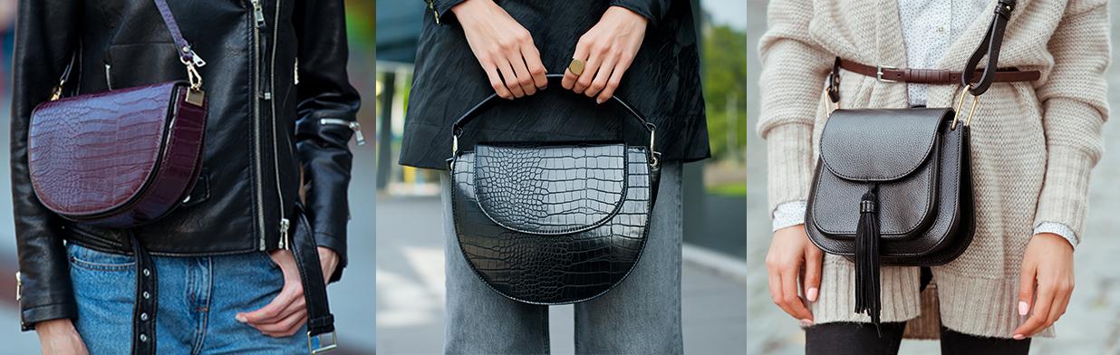 Saddle bag i inne modne torebki na wiosnę/lato 2020 - Trendy w modzie w Domodi