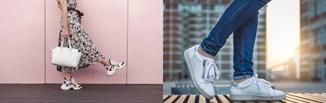 Sneakersy damskie w stylizacjach codziennych i eleganckich. Zobacz, jak modnie nosić buty sportowe!