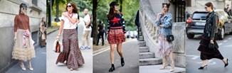 Spódnica z falbanami - jak i z czym ją nosić?