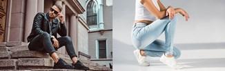Spodnie skinny – co to za fason i jak go nosić w modnych stylizacjach damskich i męskich