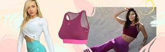 Sportowy maj. Sprawdź, jakie ubrania do ćwiczeń wybierają influencerki!
