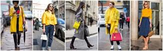 Sposób na ożywienie zimowej stylizacji - żółty