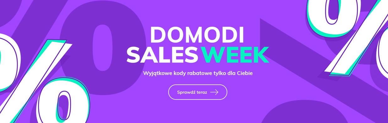 Startuje Domodi Sales Week 2020! To aż osiem tygodni fantastycznych zniżek!