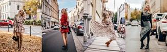 Strefa trendów: TOP 5 sukienek według Milena_blog na jesień 2019