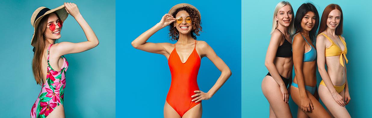 Strój kąpielowy dla małego biustu - sprawdź najlepsze modele kostiumów z efektem push-up!