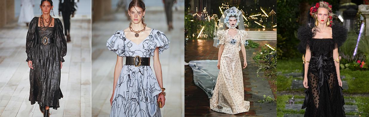 Styl empire - francuska moda z XIX w. powraca do łask. Jak wykorzystać styl empire w stylizacjach?