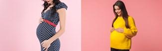Stylizacje ciążowe na jesień i zimę 2021/2022 z Instagrama. Ubierz się modnie i komfortowo w ciąży!