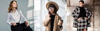 Stylizacje do pracy na jesień 2020 - jak się modnie ubrać do biura w chłodne dni?