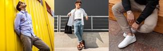 Stylizacje męskie na wiosnę 2021. Zobacz pomysły na modne wiosenne outfity dla mężczyzny!