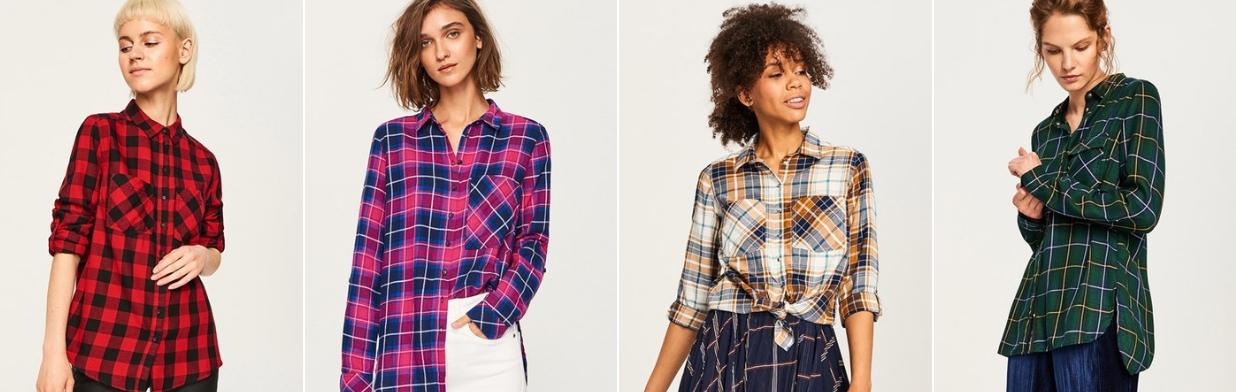 08dd8b849e7023 Stylizacje z damską koszulą w kratę. Zobacz top 5! - Trendy w modzie ...