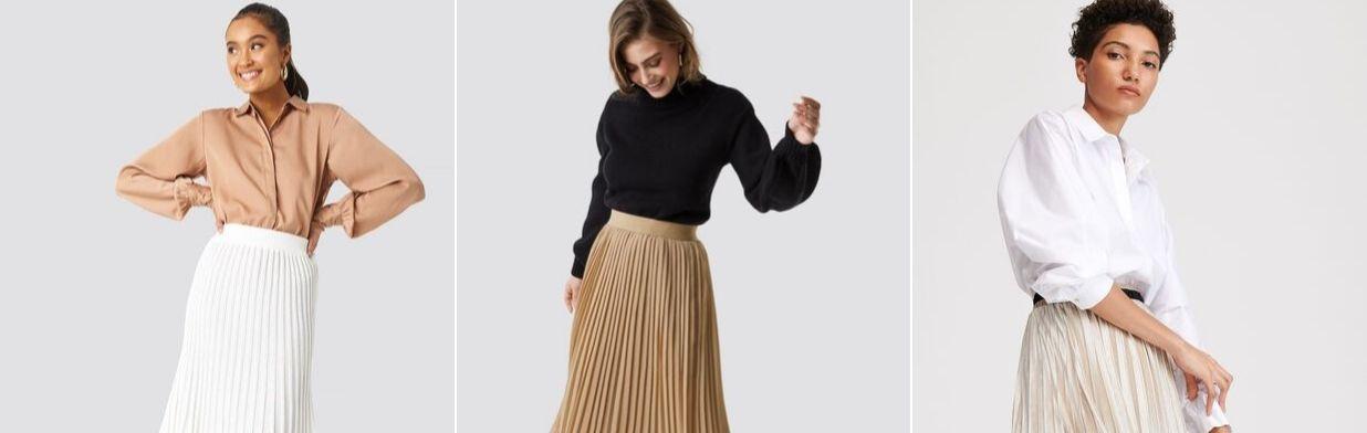 Stylizacje z plisowaną spódnicą - zobacz propozycje zestawów na każdą okazję!