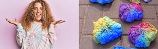 Stylizacje z ubraniami tie-dye i ombre – jak nosić modne farbowane koszulki, dresy i sukienki