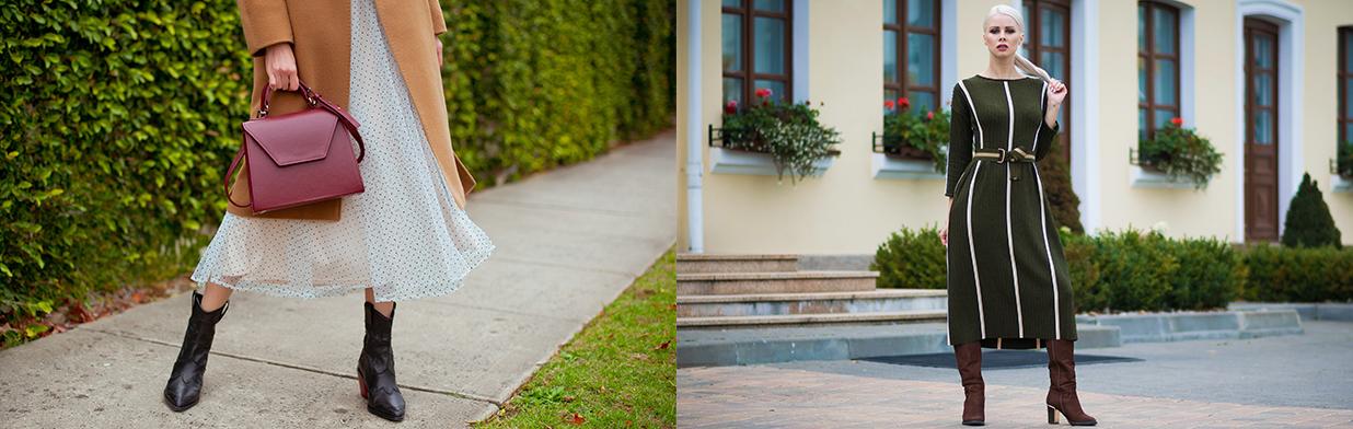 Sukienka midi - jak ją nosić i z czym, komu pasuje? Sprawdź, jak oswoić modny fason za kolano