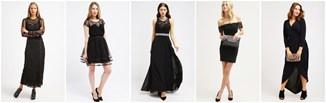 Sukienka na studniówkę: ponadczasowa czerń