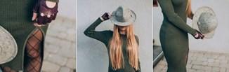Sukienka sweterkowa na jesień i zimę 2019/20. Jak nosić dzianinowe sukienki w tym sezonie?