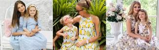 Sukienki dla mamy i córki 2020 - modne stylizacje na wesele i nie tylko!