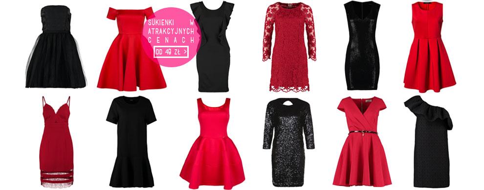 Sukienki w atrakcyjnych cenach