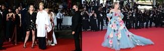 Suknia-wazon, koszula ojca i naszyjnik w kształcie oskrzeli. Najdziwniejsze stylizacje z Cannes 2021