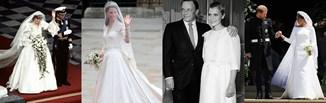 Suknie ślubne gwiazd - odkryj kreacje, które przeszły do historii mody