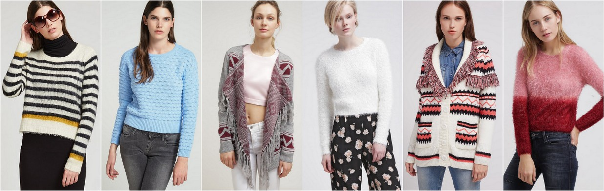 Swetry na jesień 2015