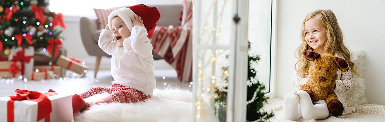 Świąteczne stylizacje dla dzieci. Jak ubrać dziecko na wigilię? Propozycje dla chłopca i dziewczynki