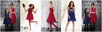 Świąteczne sukienki dla dziewczynek - pomysły na wigilijne stylizacje dla małej elegantki