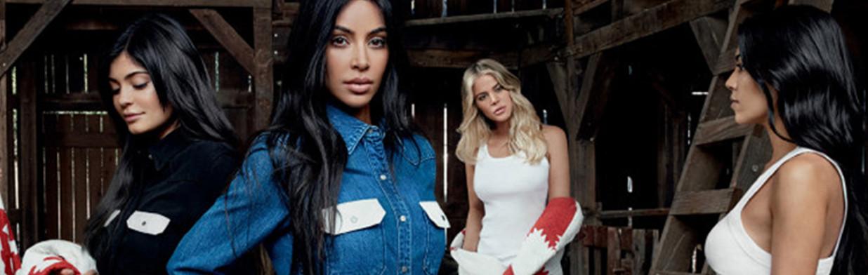 Półnagie siostry Kardashian we wspólnej sesji!