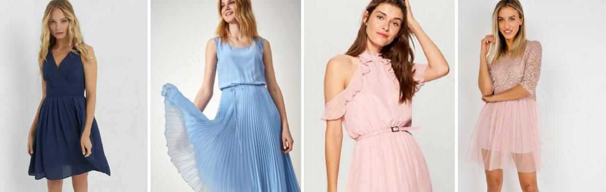 cdf146790b Tanie sukienki na wesele. Sprawdź nasze hity! - Trendy w modzie w Domodi