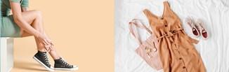 Trampki do sukienki? Oto stylizacje, które udowadniają, że tenisówki to idealne buty do sukienek!