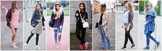 Trampki i sneakersy na wiosnę i lato