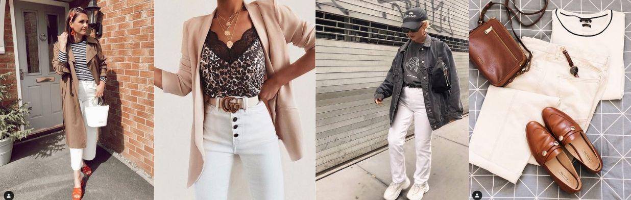 0b8811a599d6c Trend 2019: białe jeansy. Do czego nosić? - Trendy w modzie w Domodi