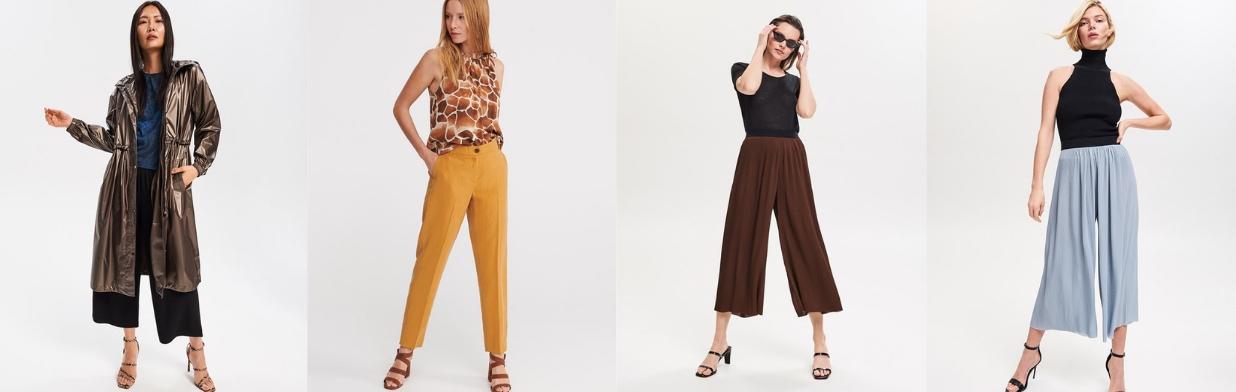 Trendy: spodnie na wiosnę 2019. Przegląd do 100zł!